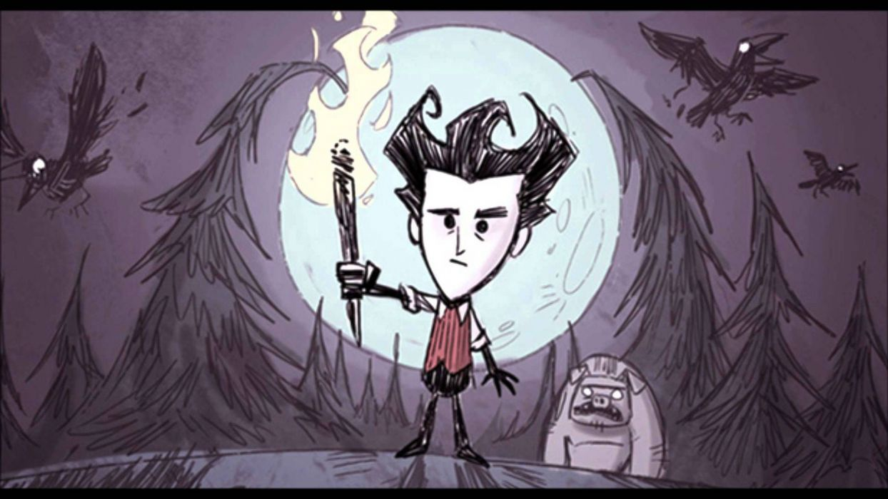 DONT STARVE action adventure survival horror sandbox wallpaper