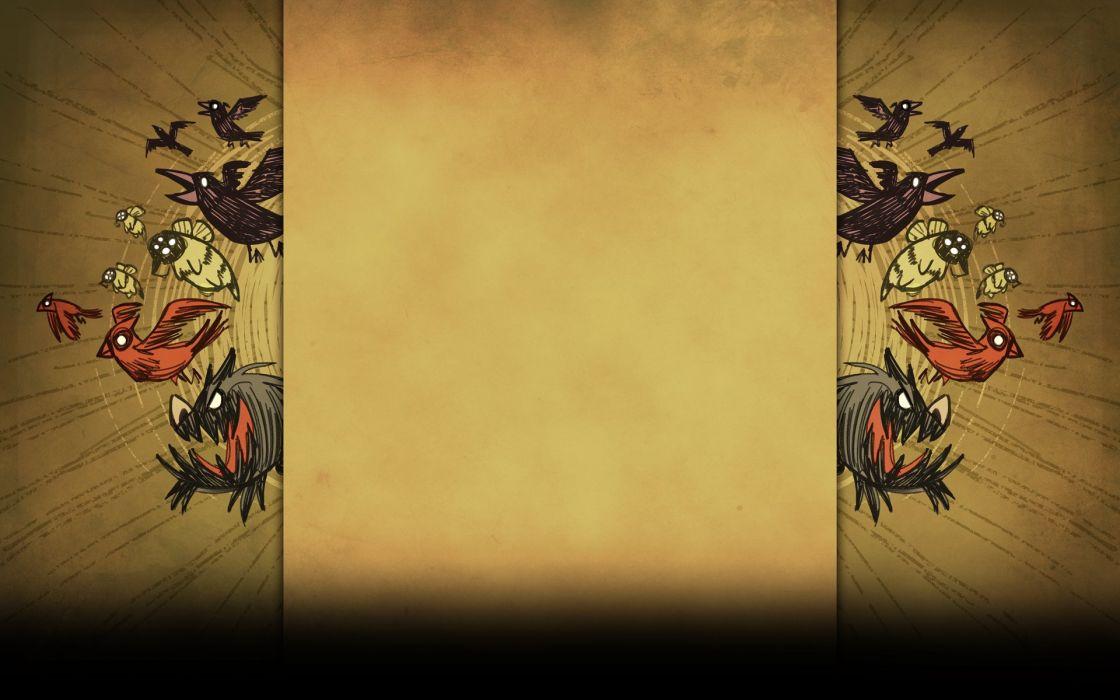 DONT STARVE action adventure survival horror sandbox wallpaper