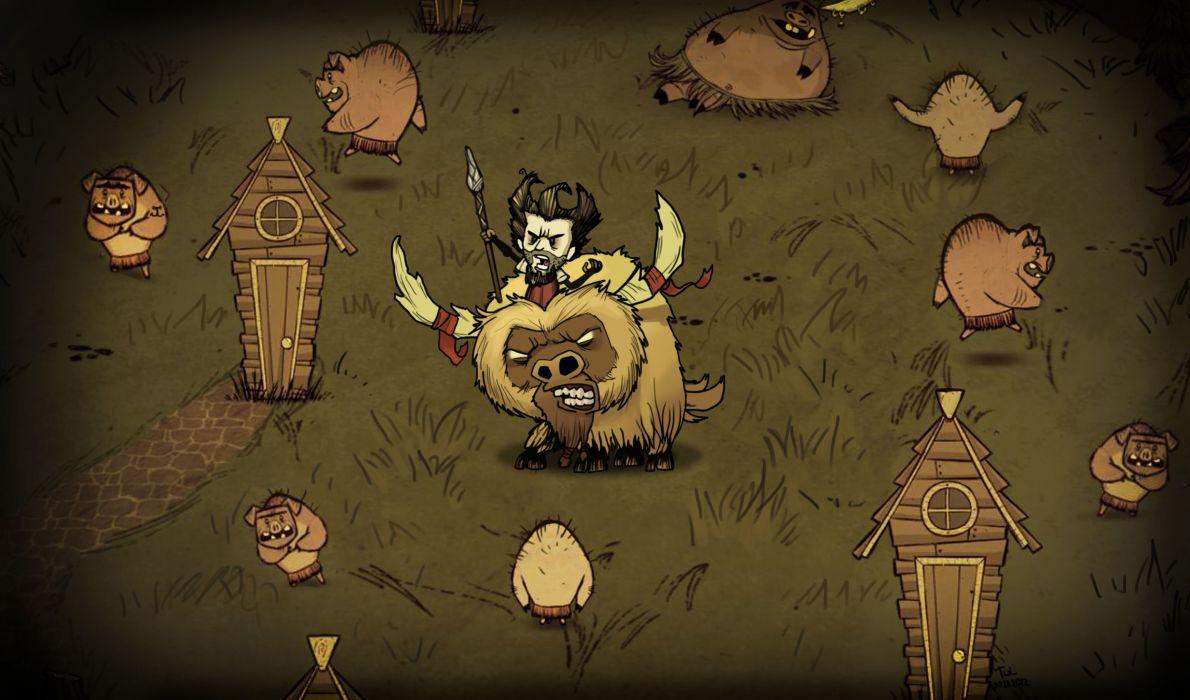 Dont Starve Action Adventure Survival Horror Sandbox
