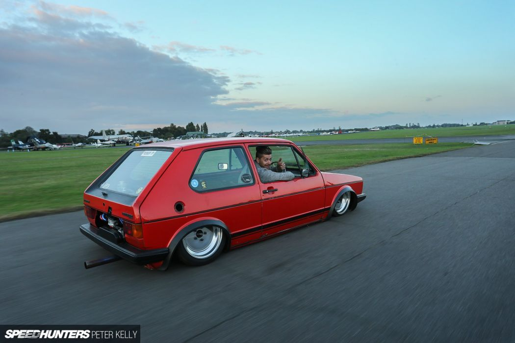 1970 VW Beetle 1983 VW Golf GTI volkswagon tuning wallpaper