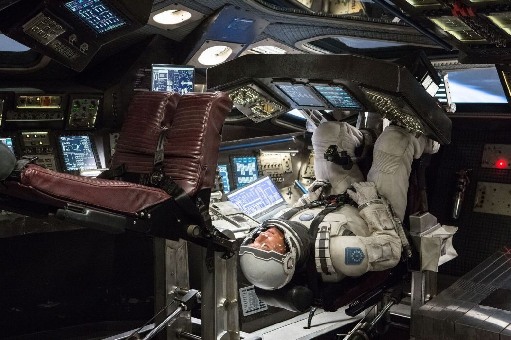 INTERSTELLAR sci-fi adventure mystery astronaut spaceship wallpaper