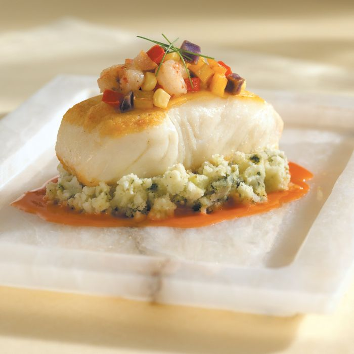 HALIBUT fish dinner meal seafood wallpaper
