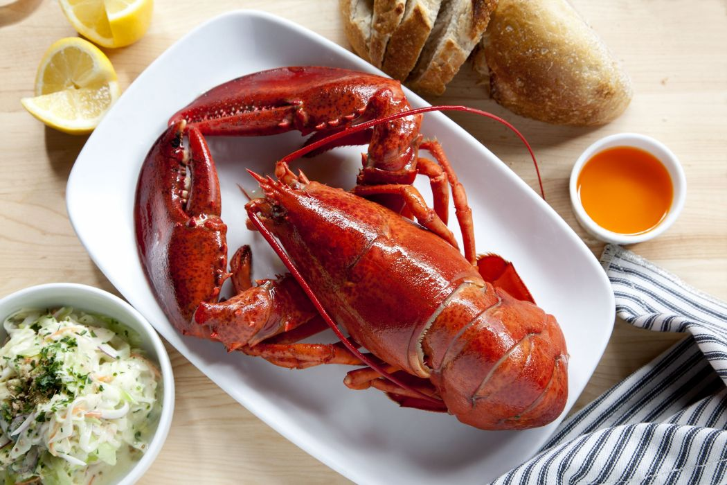 LOBSTER dinner shellfish seafood meal meat wallpaper