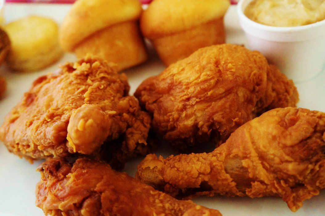 FRIED CHICKEN meat wallpaper