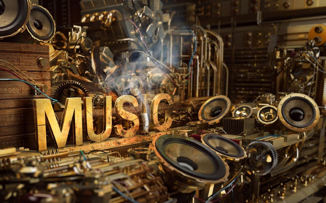 mechanisms dynamics wire music wallpaper