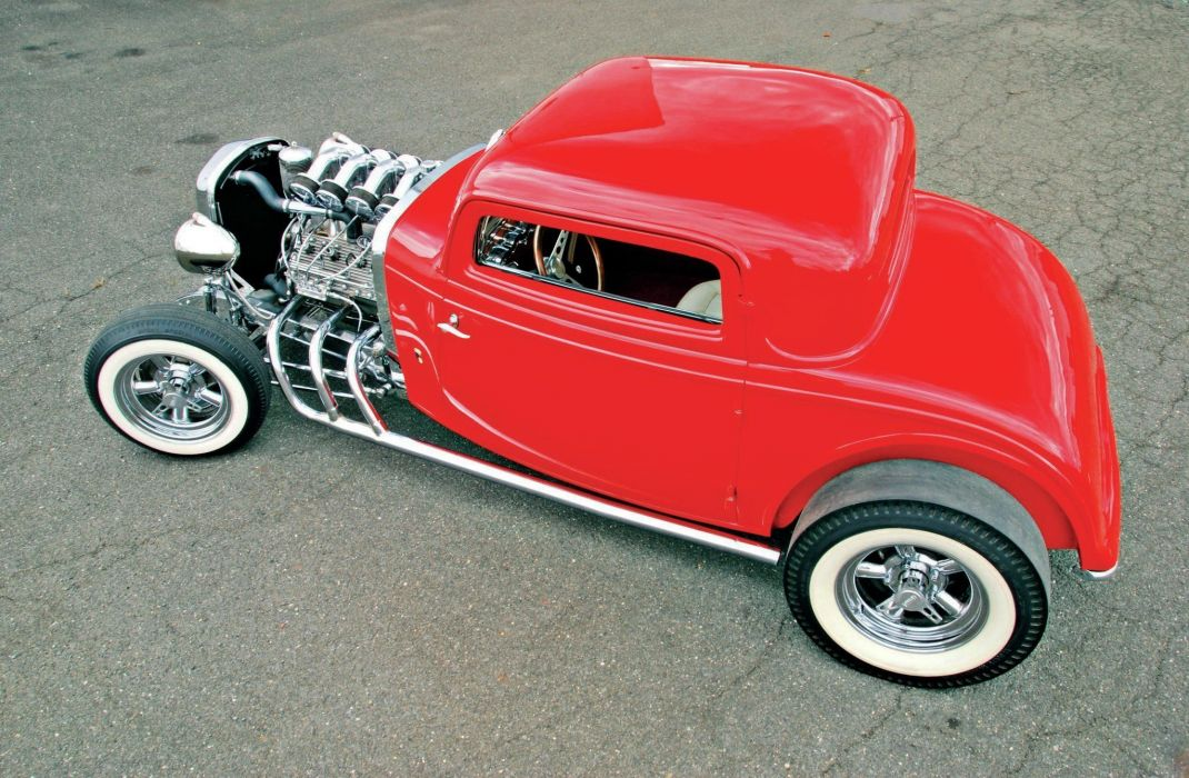 1932 car classic Ford HOT ROD USA wallpaper