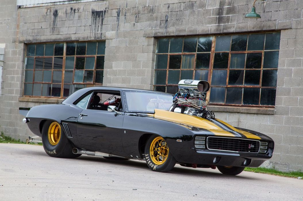 1969 Chevy Camaro Z 28 Muscle Cars Supercharger Ihra Pro