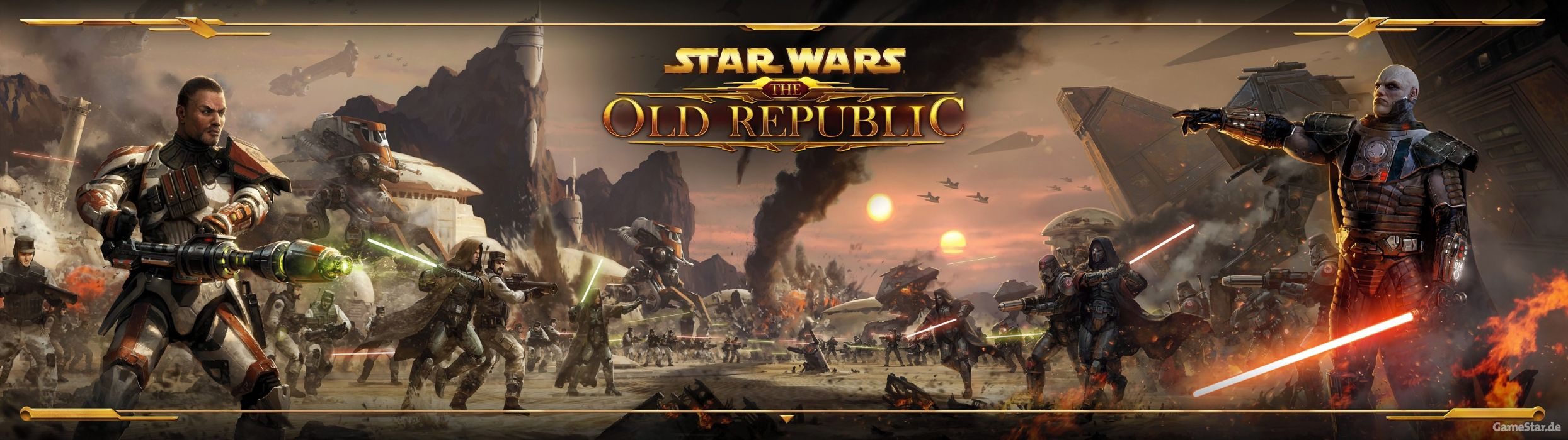 Star Wars Old Republic Mmo Rpg Swtor Fighting Sci Fi Wallpaper 3840x1080 518892 Wallpaperup