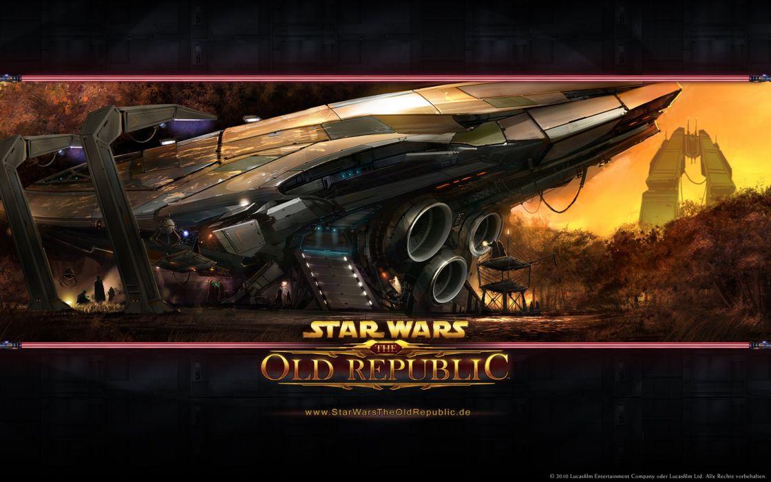 STAR WARS OLD REPUBLIC mmo rpg swtor fighting sci-fi wallpaper