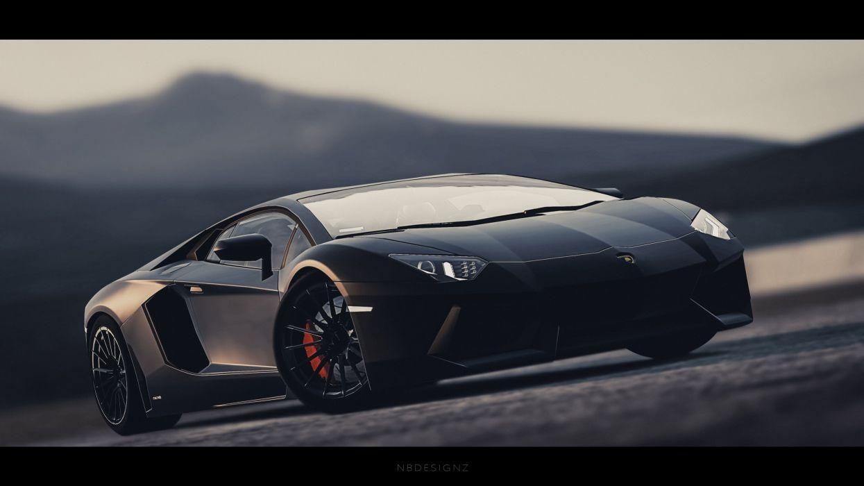 Merveilleux Lamborghini Aventador LP700 4 Gran Turismo 6 NBDESIGNZ Wallpaper
