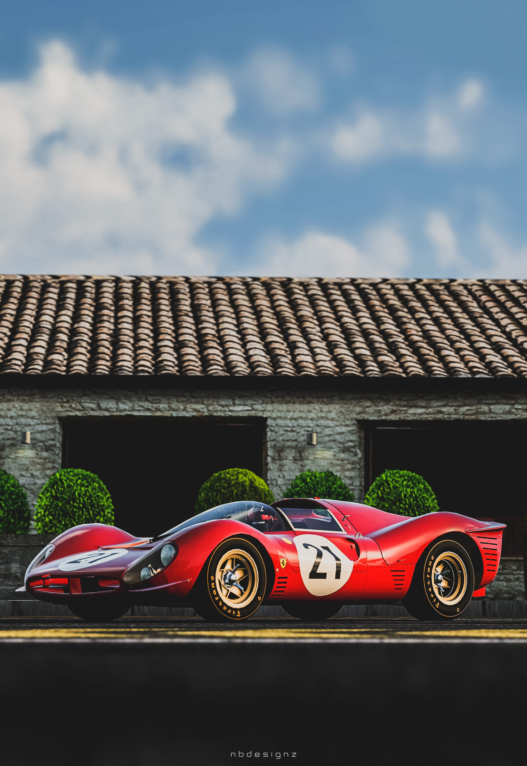 Ferrari 330 P4 Gran Turismo 6 Nbdesignz Wallpaper