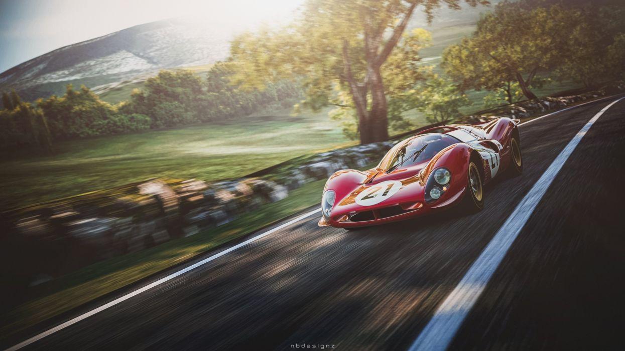 Ferrari 330 p4 wallpaper