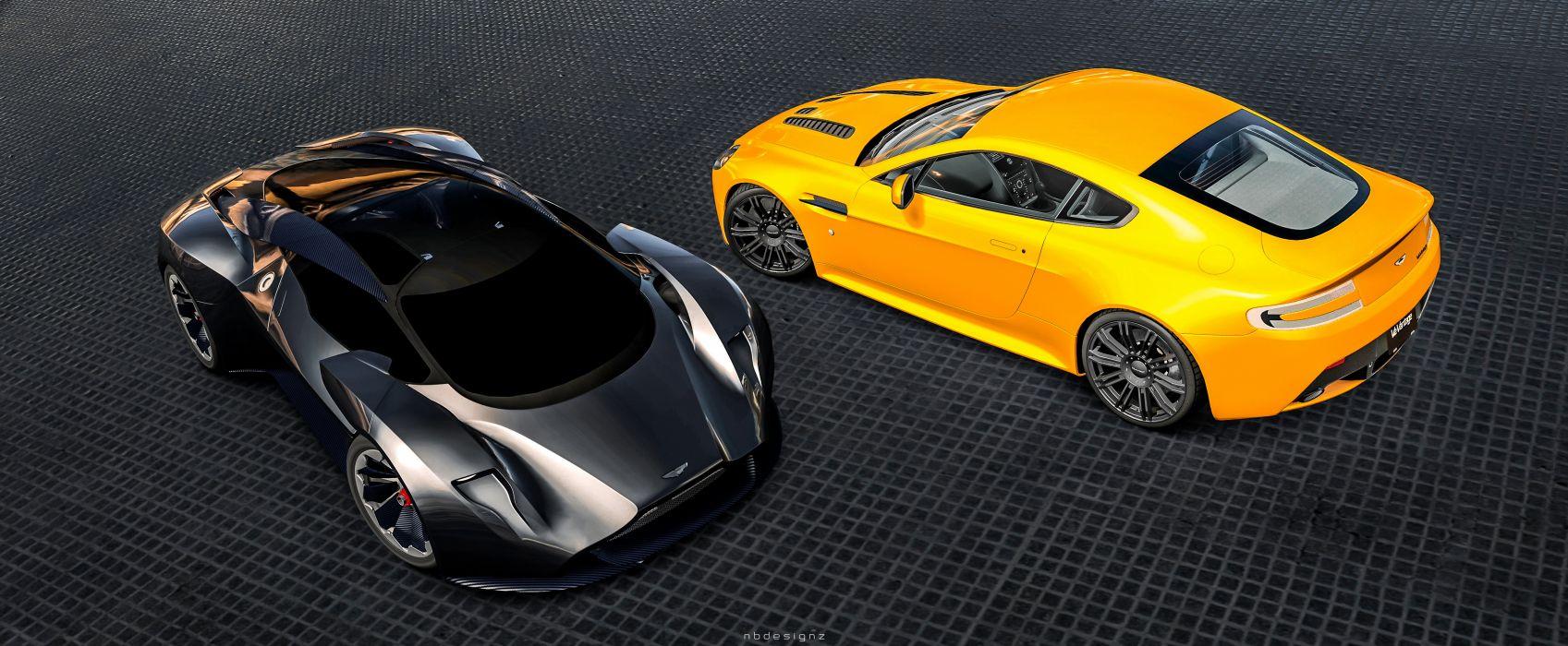 Aston Martin V12 Vantage & DP-100 Gran Turismo 6 NBDESIGNZVision GT wallpaper