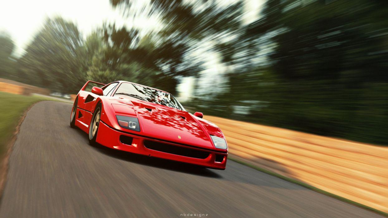 Ferrari F40 Gran Turismo 6 NBDESIGNZ wallpaper