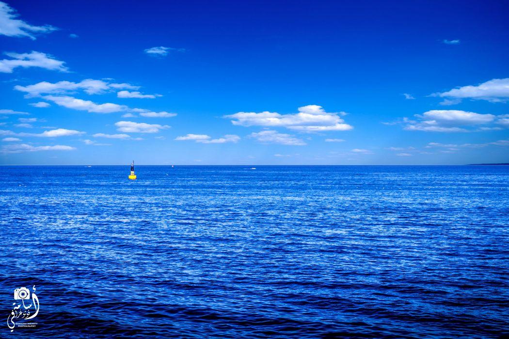 Beautiful - Caribbean - clouds - nature - ocean - Sea - sky - sunlight wallpaper
