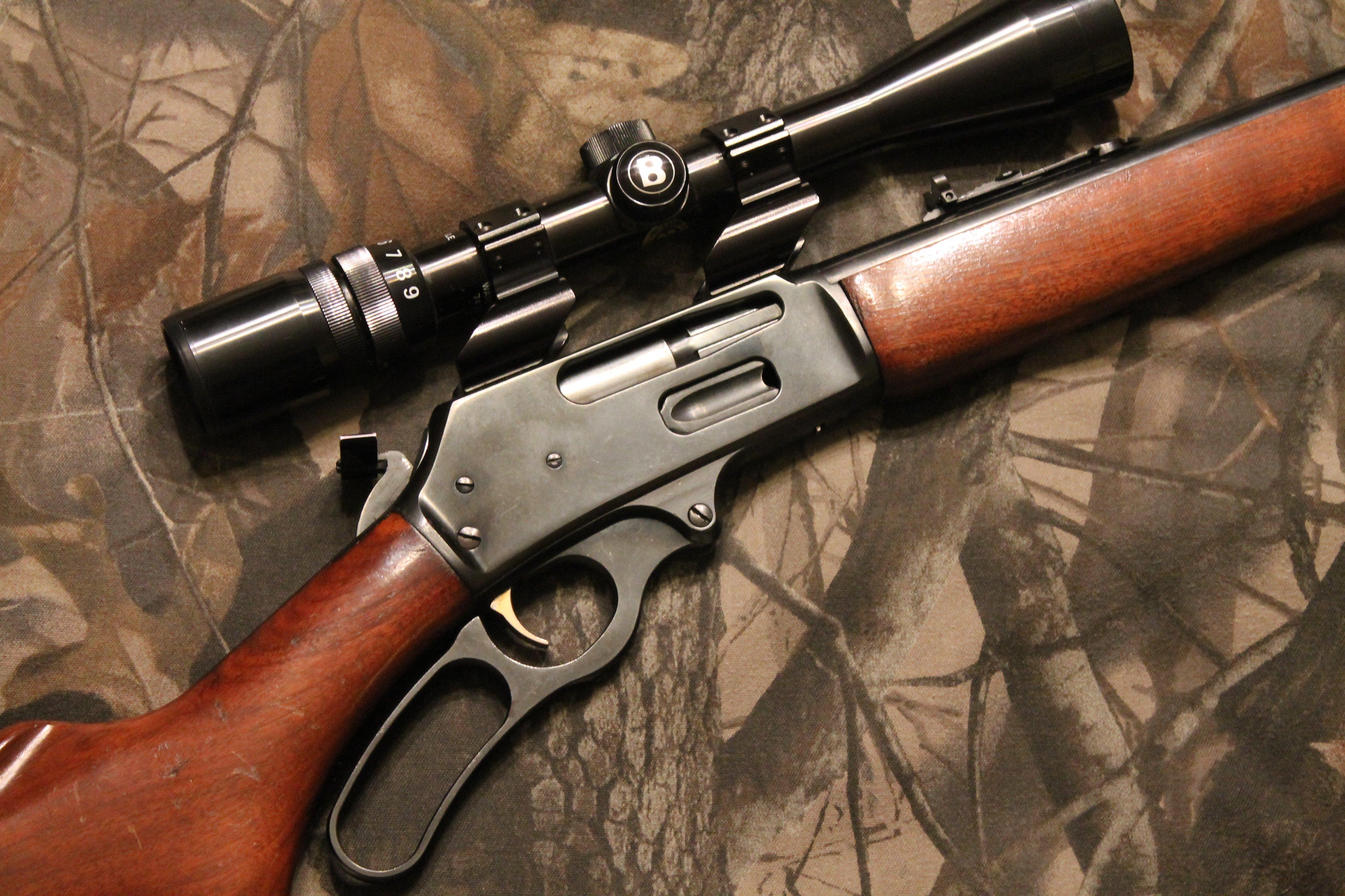 marlin hunting rifle weapon gun wallpaper 4272x2848