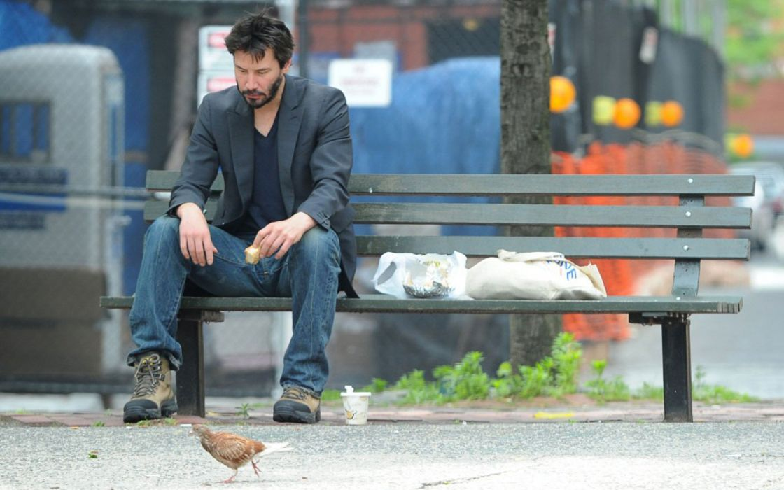 Amazing Keanu Reeves Bench Part - 4: Bench Shoes Sadness Keanu Reeves Wallpaper