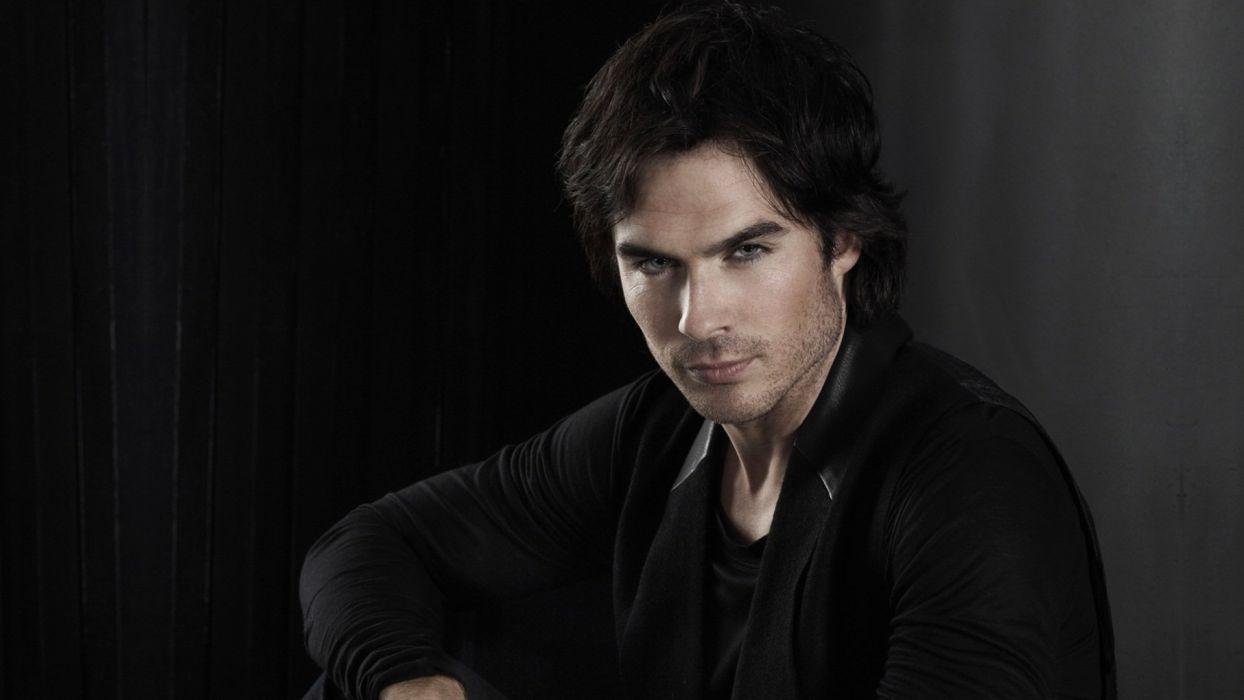 Vampire Diaries Tv Serie Show Nina Dobrev Paul Wesley Ian