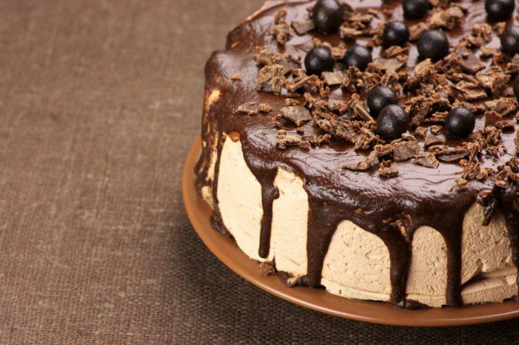 souffle dessert Balls cake cream food chocolate sweet wallpaper