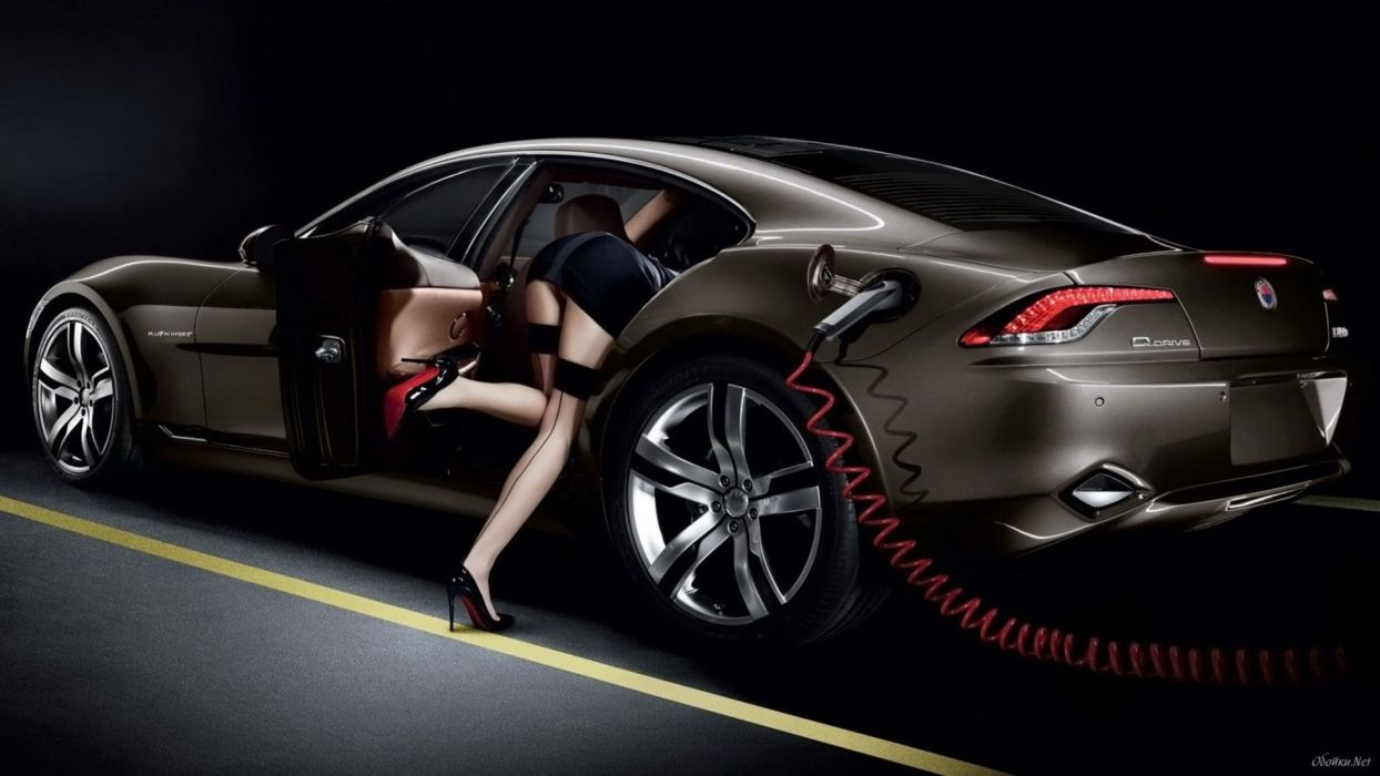 WOMEN AND MACHINES - legs car shoes wallpaper