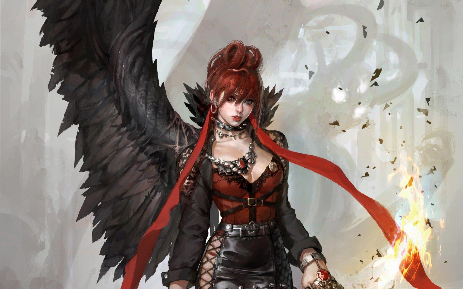 Демон и две девушки