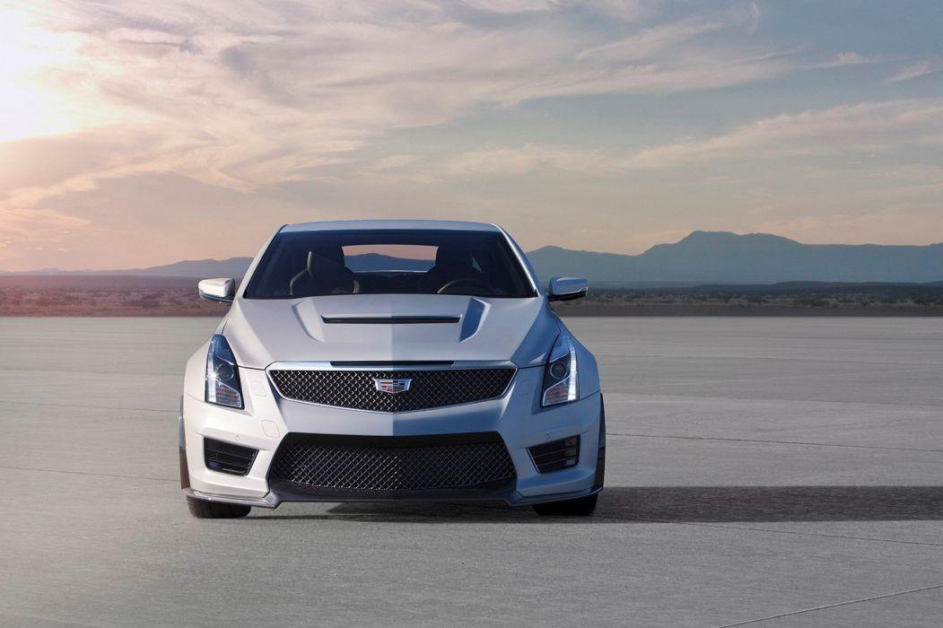 2015 Cadillac ATS-V coupe cars wallpaper