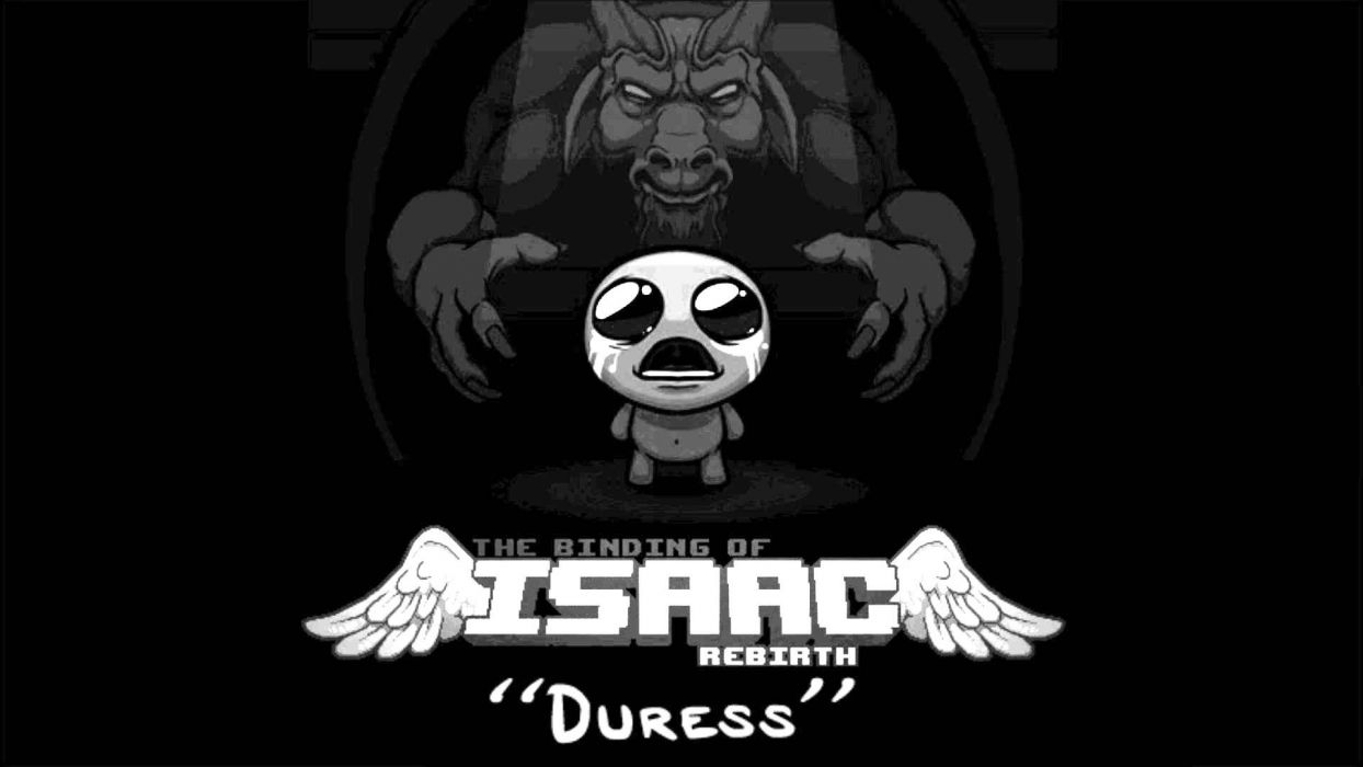 Binding Of Isaac Action Adventure Dungeon Fantasy Wallpaper