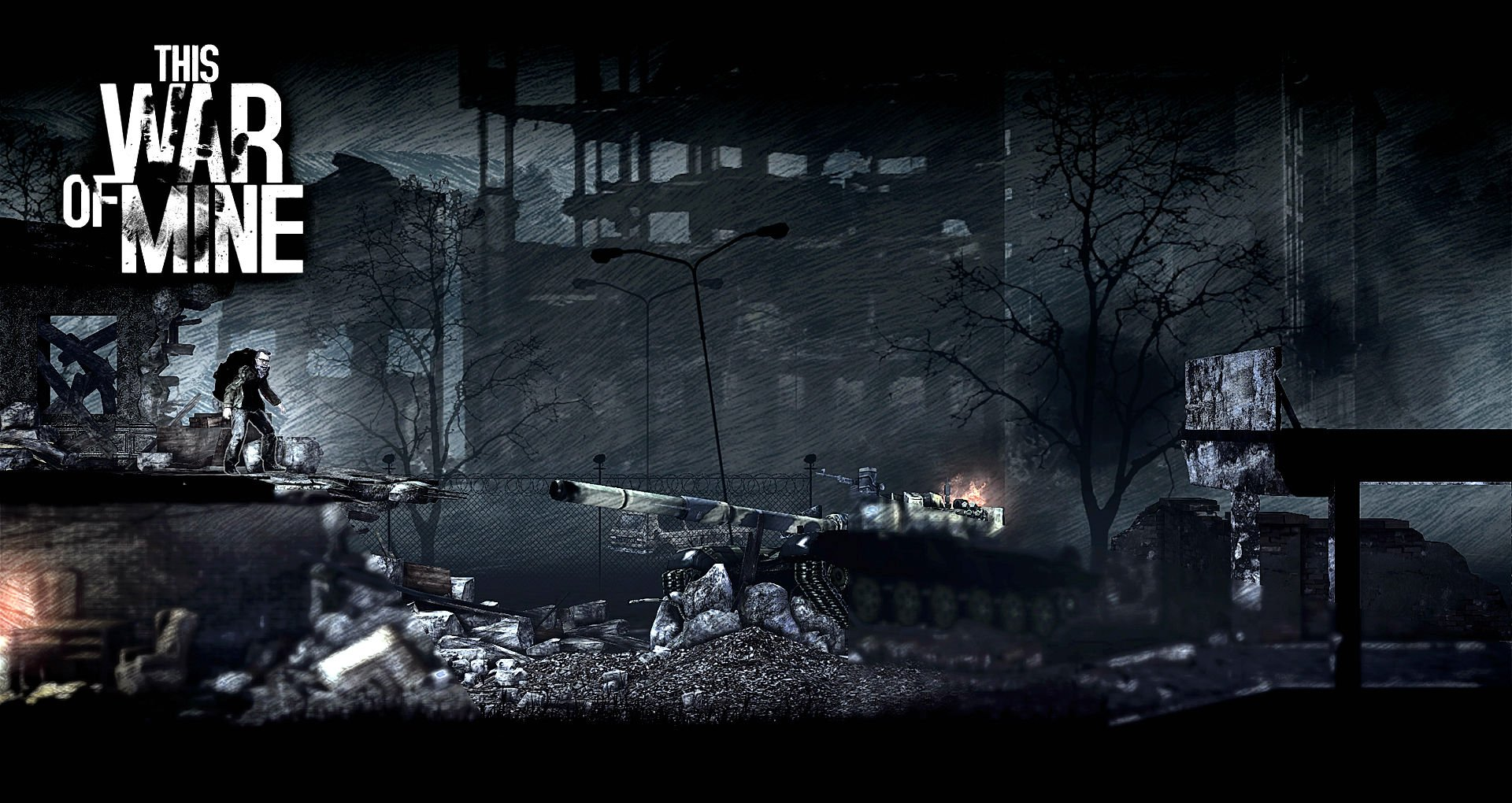 Sci Fi Wallpaper Of The Week 19: THIS WAR OF MINE Survival Horror Dark Apocalyptic Sci-fi