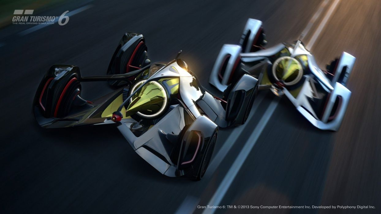 2014 Chaparral 2X Vision GT Concept cars videogames gran turismo-6 wallpaper