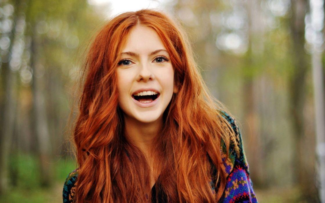 Redhead Model Woman Beauty Eautiful Lovely Sweet Cute Girl Wallpaper 1920x1200 521852 Wallpaperup