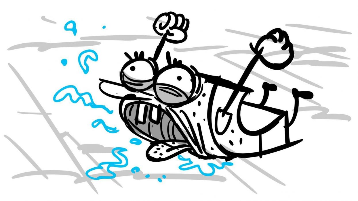 Spongebob Sponge Out Of Water Family Cartoon Animation Family