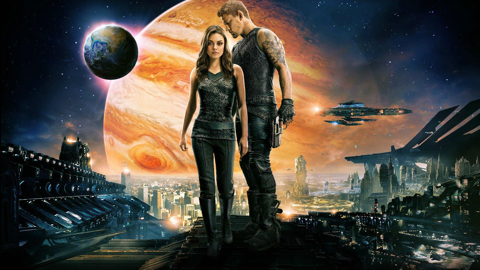 Jupiter Ascending Retina Movie Wallpaper: JUPITER ASCENDING Action Adventure Sci-fi Futuristic Gh