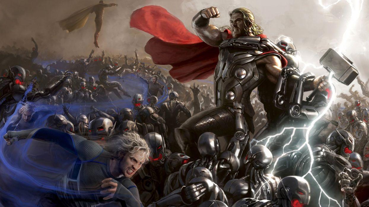 Avengers Age Of Ultron Superhero Action Adventure Comics Marvel