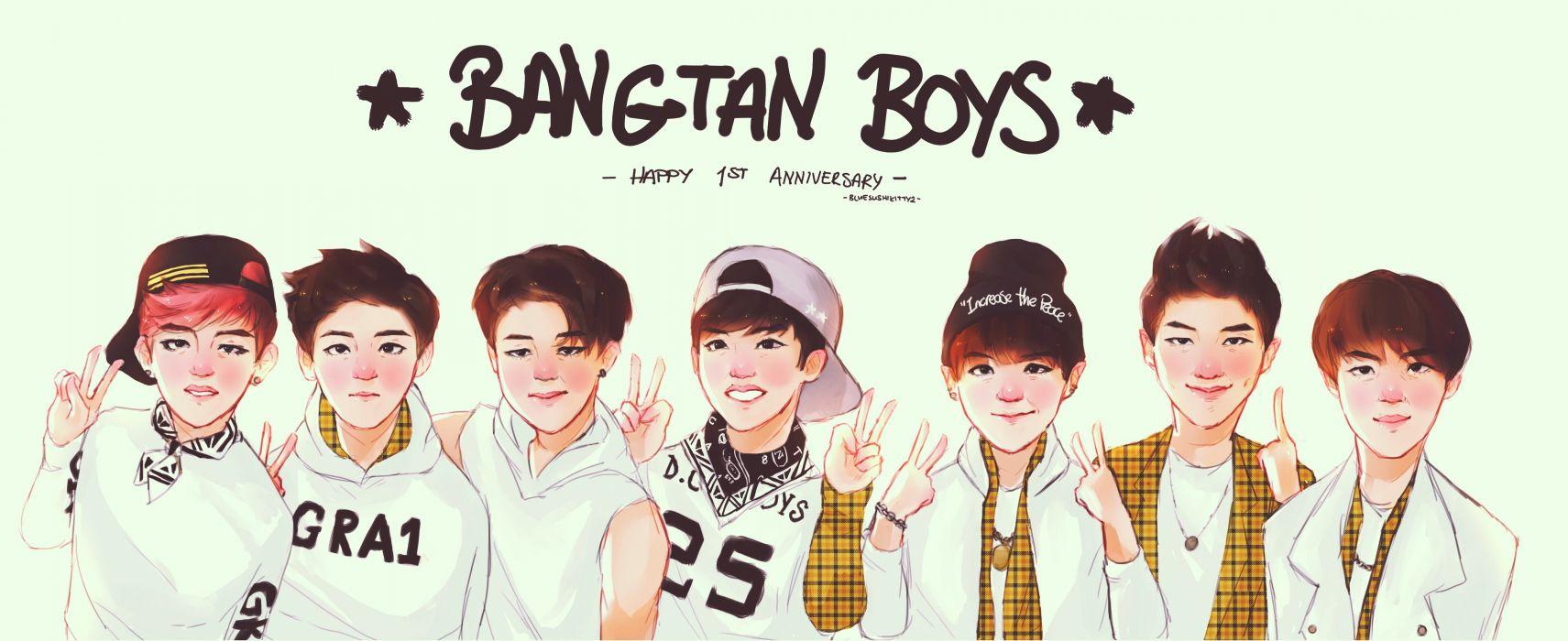 BANGTAN BOYS Bulletproof Boy Scouts bts kpop hip hop r-b dance wallpaper