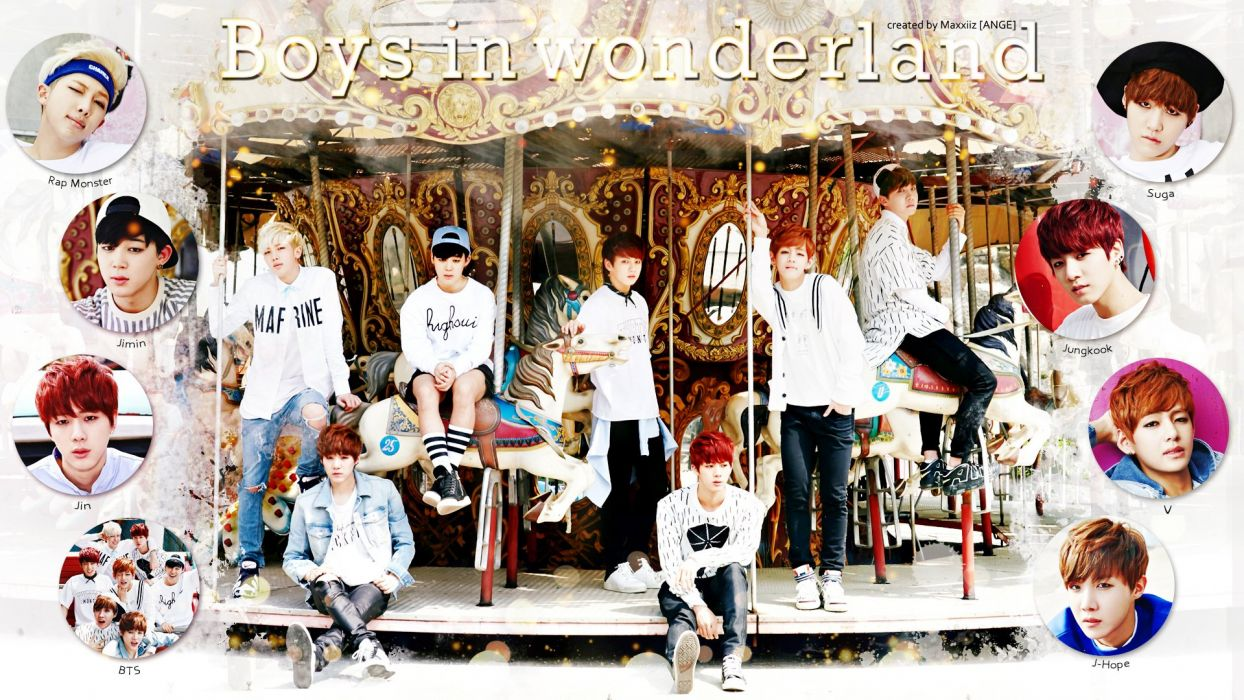 BANGTAN BOYS Bulletproof Boy Scouts bts kpop hip hop r-b dance wallpaper