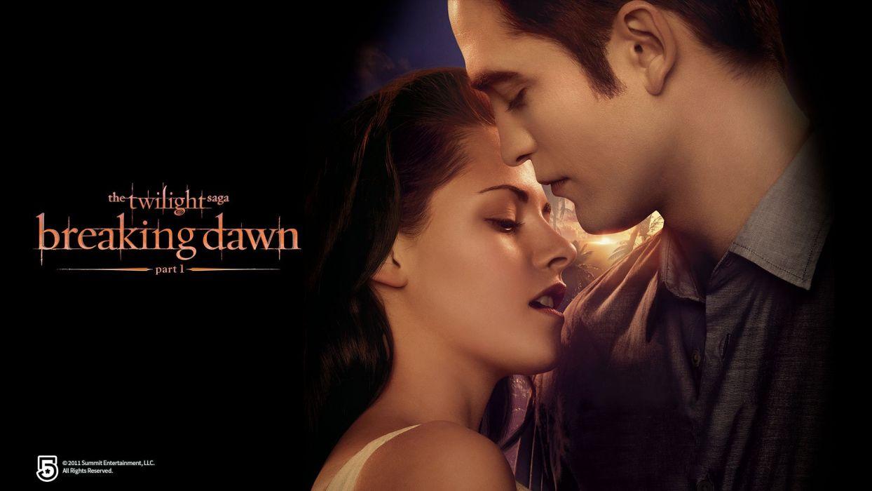 TWILIGHT Breaking Dawn adventure drama romance vampire werewolf wallpaper
