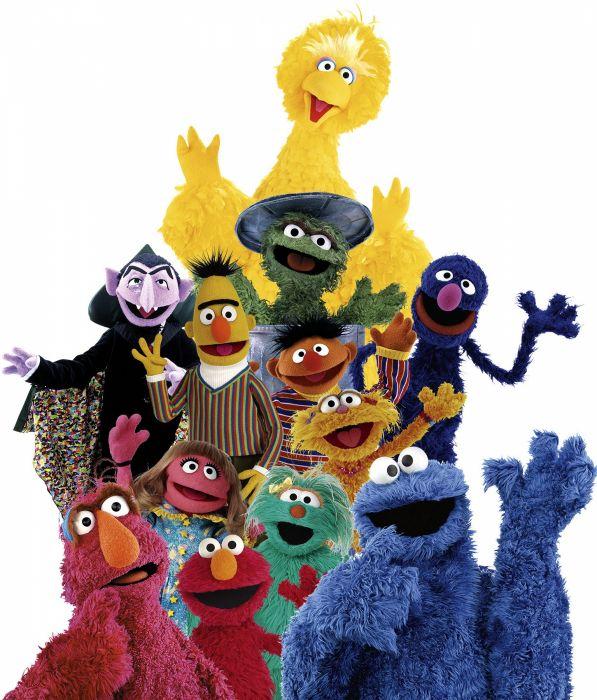SESAME STREET family muppets children puppet comedy wallpaper
