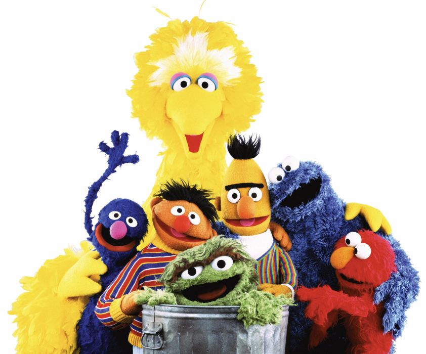 SESAME STREET family muppets children puppet comedy wallpaper