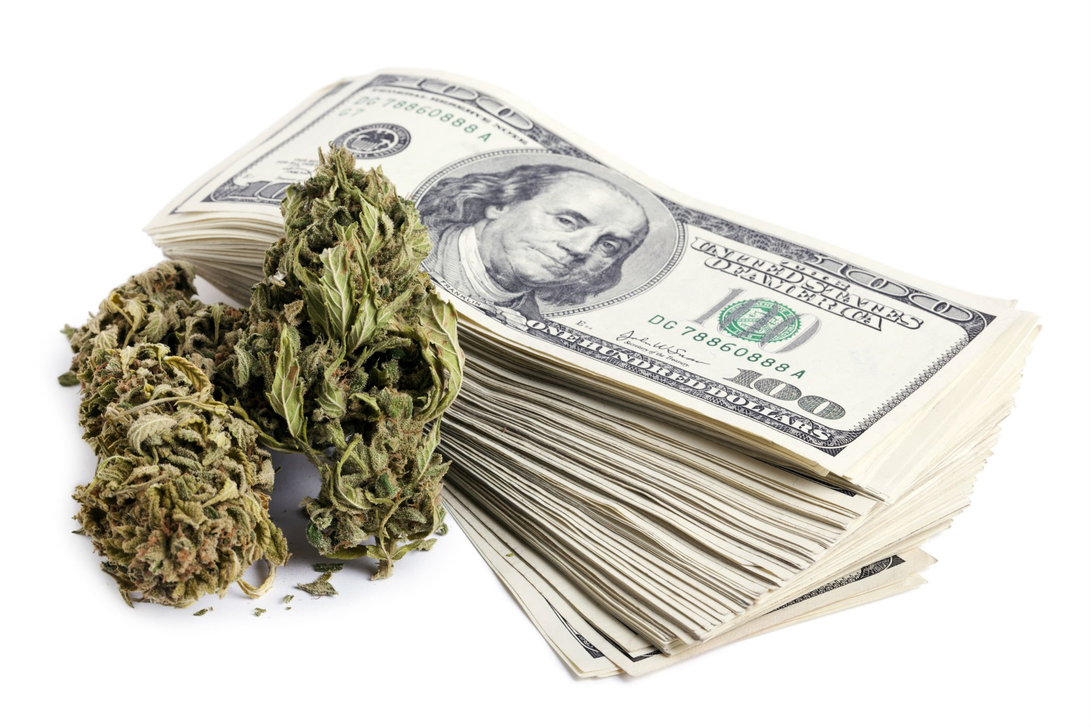 Weed And Money Wallpaper