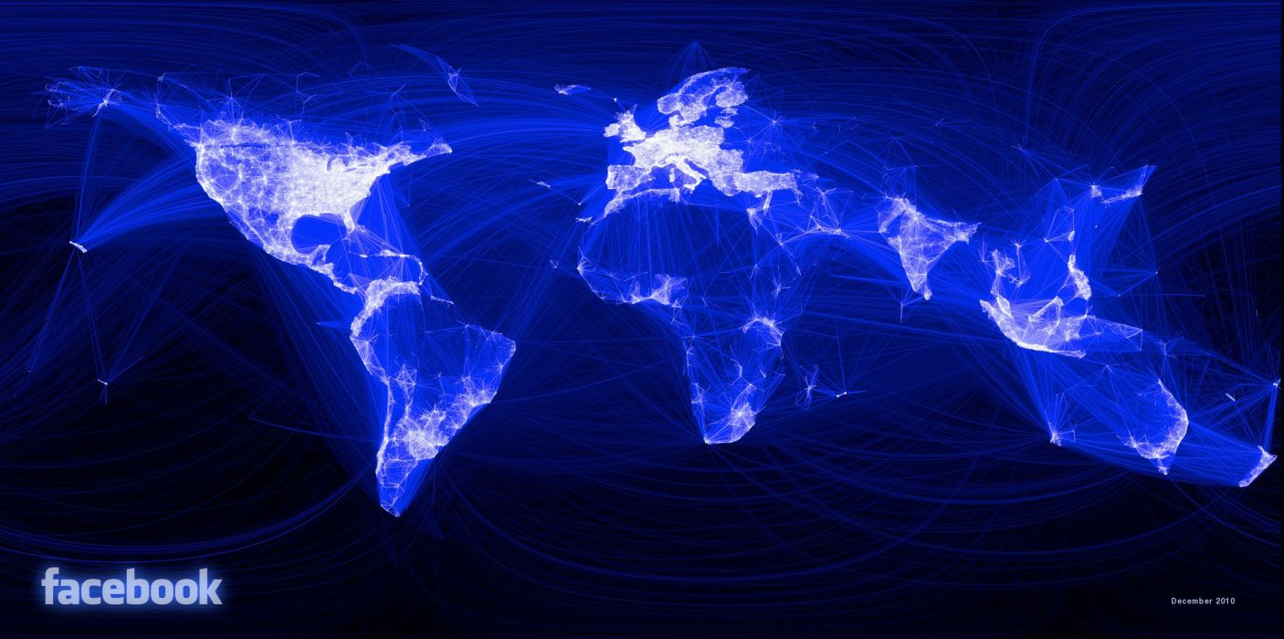 communication facebook people sasi map wallpaper