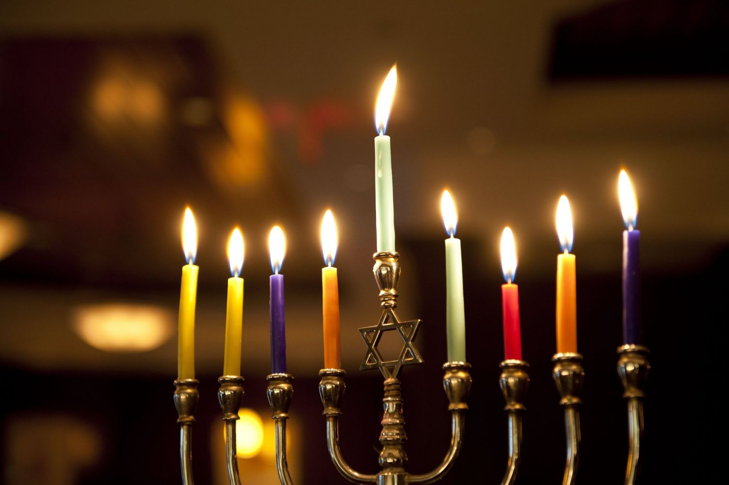 The Hanukkah menorah also chanukiah or hanukkiah Hebrew מנורת חנוכה menorat ḥanukkah pl menorot also Hebrew חנכיה
