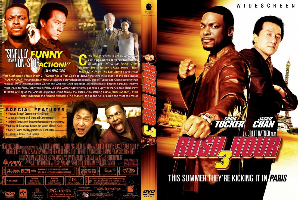 RUSH HOUR martial crime action comedy thriller wallpaper