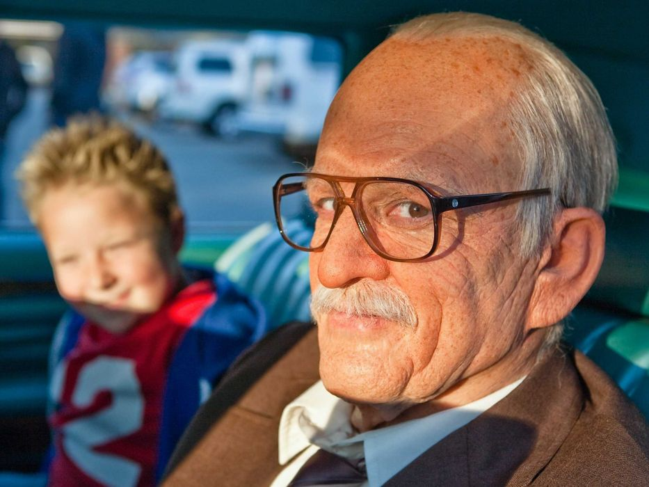 BAD GRANDPA comedy jackass reality wallpaper