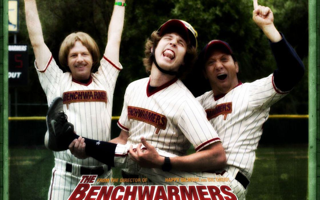 BENCHWARMERS comedy sports baseball schneider wallpaper