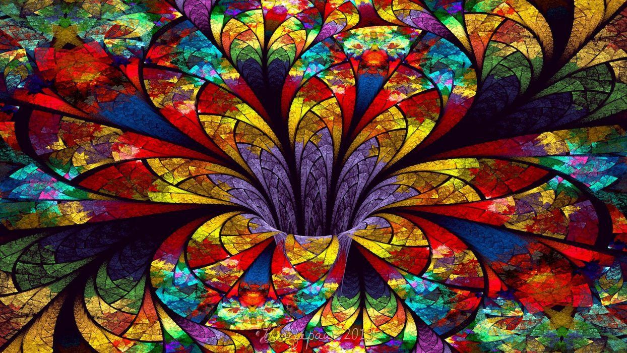 colorful bright wallpaper