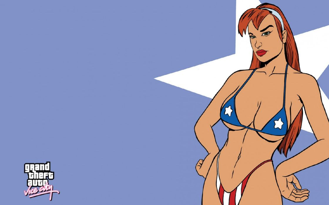 Candy Suxxx gta vice city vc grand theft auto game video wallpaper