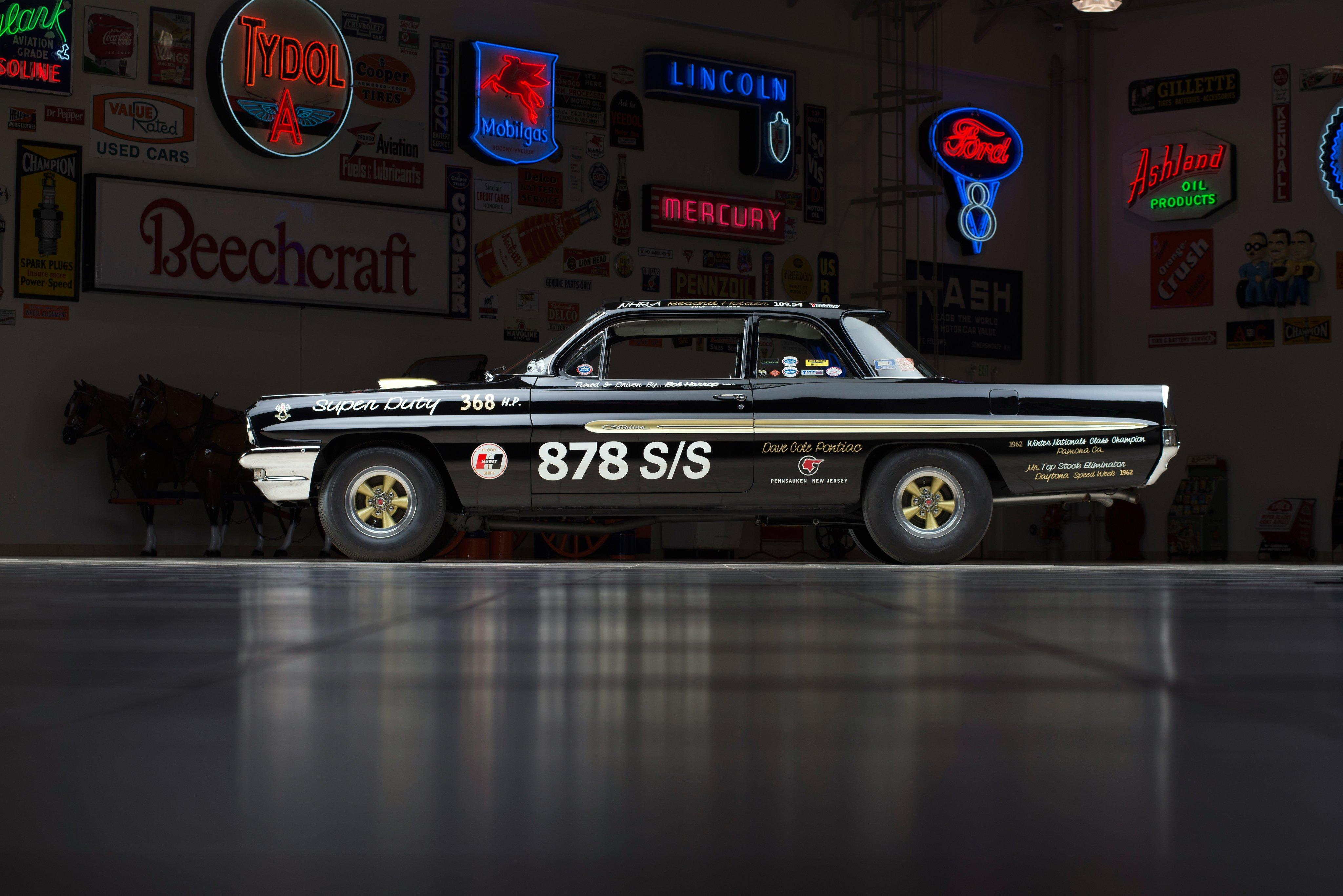 1961 Pontiac Catalina Super-Duty 389 Factory Lightweight