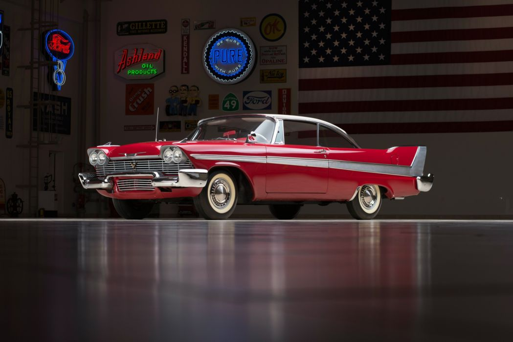 1958 Plymouth Fury Sport Coupe (2-3) retro luxury wallpaper