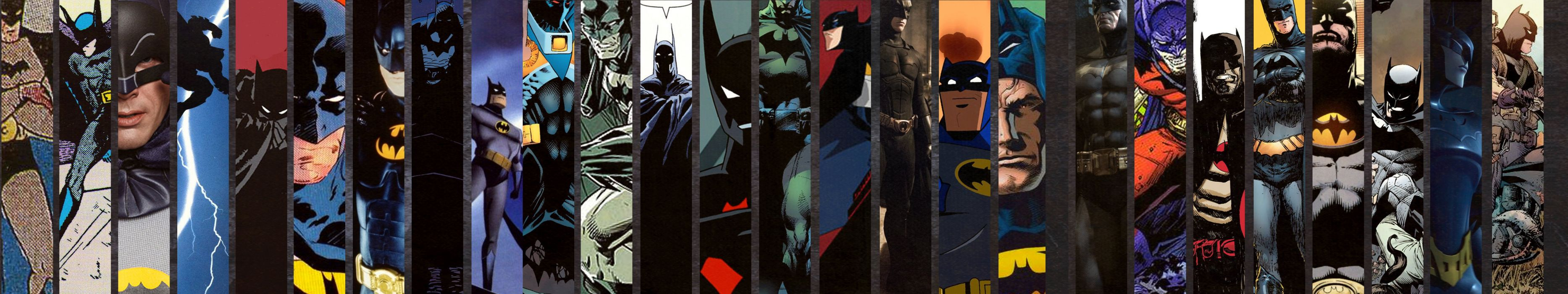 triple screen - multi monitor - multiple - batman wallpaper