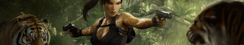 Triple Screen Multi Monitor Multiple Videogame Jeux Jeu Video Steam Tomb Raider Lara Croft Wallpaper 5760x1080 525018 Wallpaperup